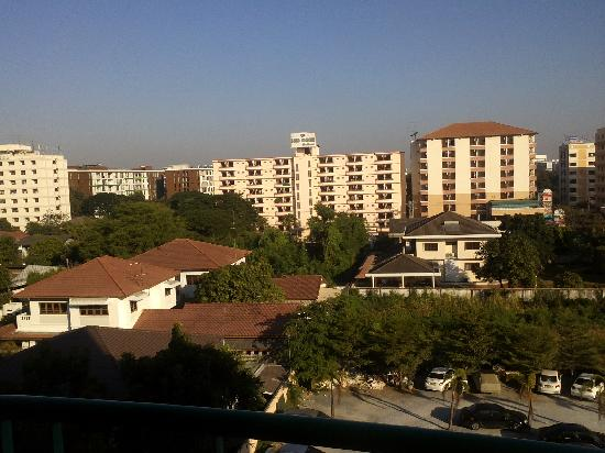 Vabua Asotel: View from my room balcony that faces north
