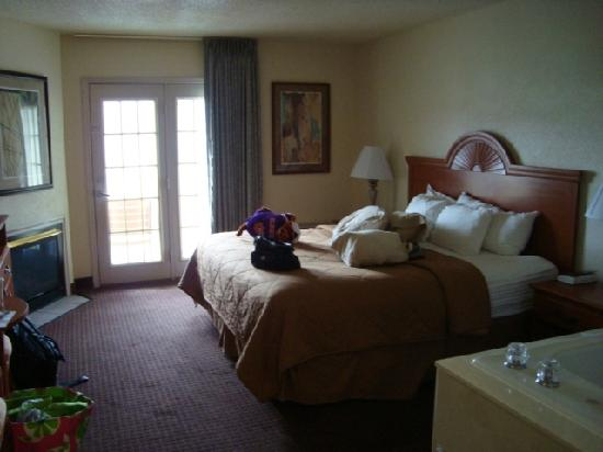 Comfort Inn &amp; Suites at Dollywood Lane: our room