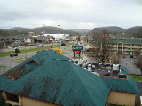 Comfort Inn &amp; Suites at Dollywood Lane: our view