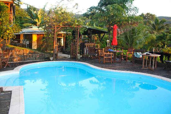 the tainos cottages have a pool but with the spectacular beach, why spend time at the pool?