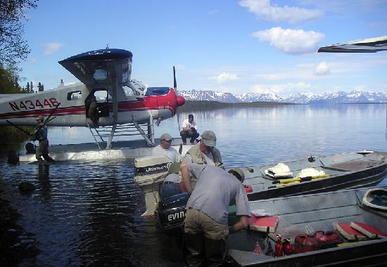 Gusts of alaska rainbow lodge have exclusive access to our for Flying fish fleet