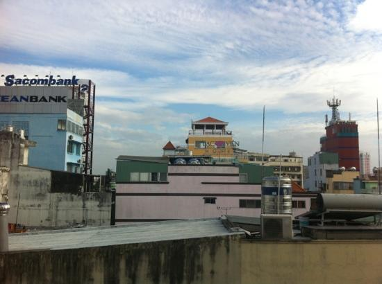 Duna Hotel: view from room 804