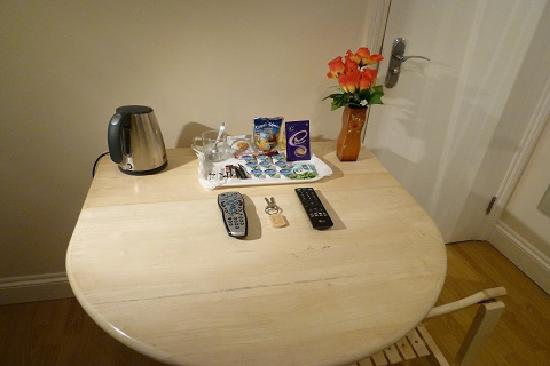 Tulsi Croydon Aparthotel: Welcome Kit- Guest Room