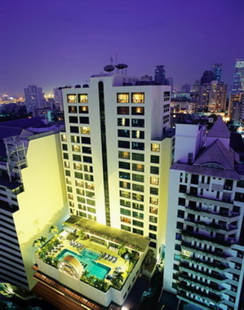 BelAire Bangkok: Hotel Building
