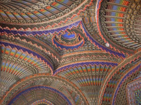 Province of Florence, Italie : Castello  di Sammezzano 
