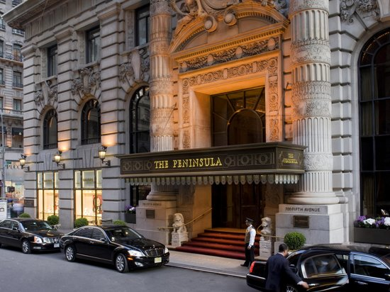 The Peninsula New York: Hotel Entrance