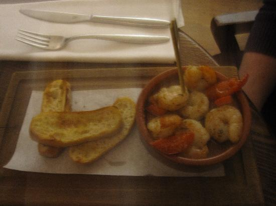 Prawn starter - Picture of The Living Room, Edinburgh - TripAdvisor