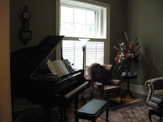 Columbine Bed & Breakfast: Music Room