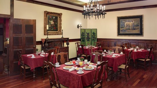 Anchorage Inn: Our Breakfast and Small Meeting Room