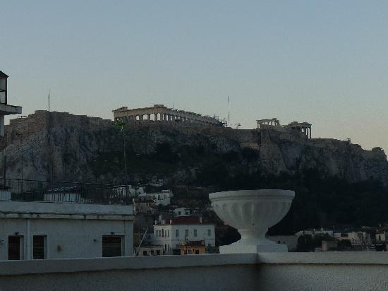 Athos Hotel: View from roof terrace