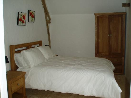 Cussay, ฝรั่งเศส: La Colombe double bedroom