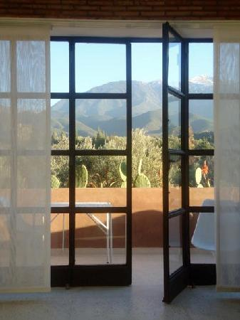 DOMAINE MALIKA Atlas mountains Hotel: View from the bed