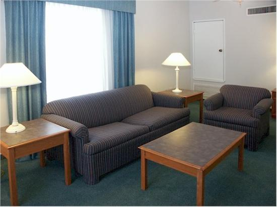 ‪‪La Quinta Inn Fort Worth West Medical Center‬: Suite‬