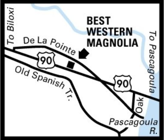 Magnolia Inn: Regional Map