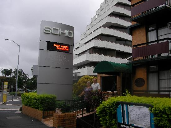 Small but comfy and well kept picture of soho motel for 101 wickham terrace brisbane