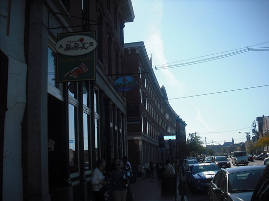 Andy 39 s old port pub portland menu prices restaurant for 02 salon portland maine