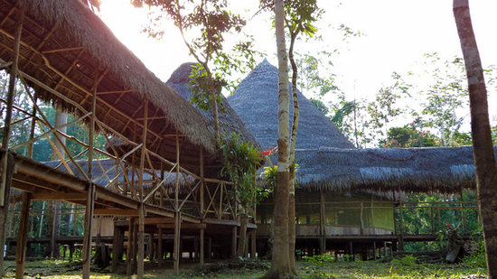 Amazon Reise Eco Lodge: Instalaciones del Lodge