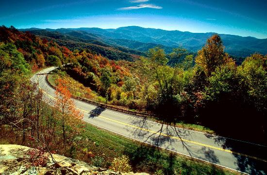 Tennessee&#39;s Cherohala Skyway