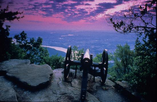 Tennessee: The view from Lookout Mountain