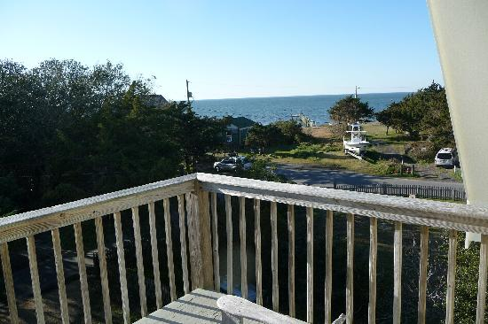 The Cove Bed and Breakfast: View from the balcony