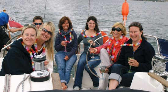 Lymington, UK: A great day out for the girls!