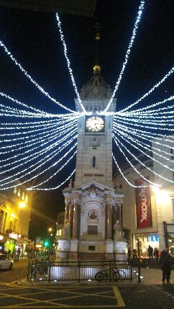 , UK: Clock tower