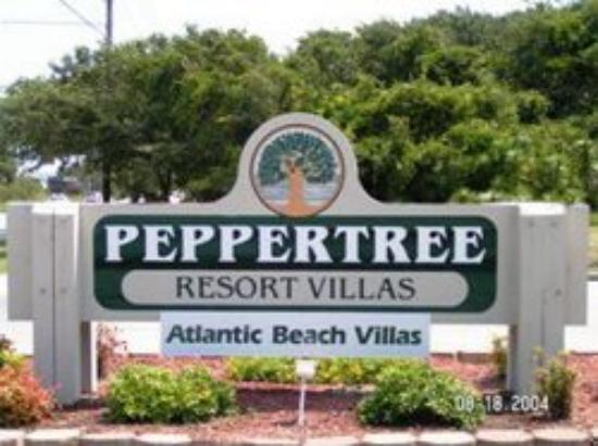 entrance picture of peppertree atlantic beach a festiva. Black Bedroom Furniture Sets. Home Design Ideas