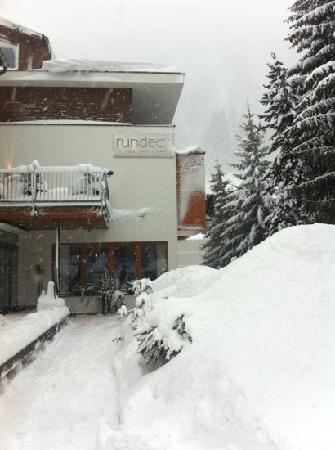 Hotel Rundeck: heavy snow on 6 January 2012
