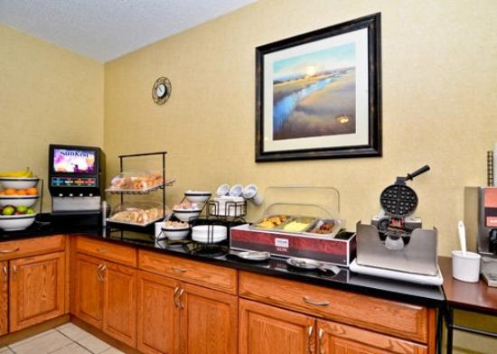 Billings Comfort Inn: Breakfst