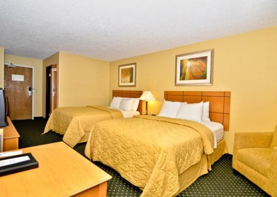 Billings Comfort Inn: Dbl Queens