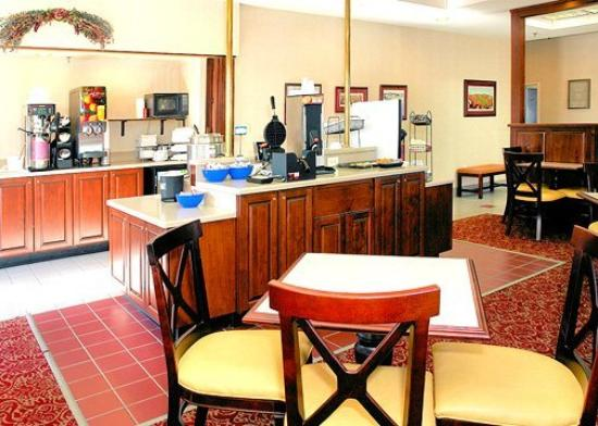 The Blacksburg Comfort Inn Hotel: Restaurant