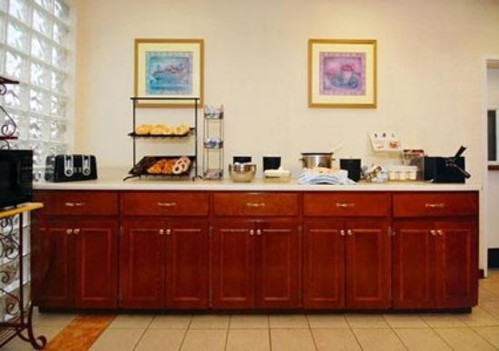 Comfort Inn & Suites: 35 Item Hot Breakfast Buffet including Sausage & 2 Types of Eggs