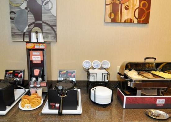 Comfort Inn &amp; Suites: ARBreakfast Hot Area