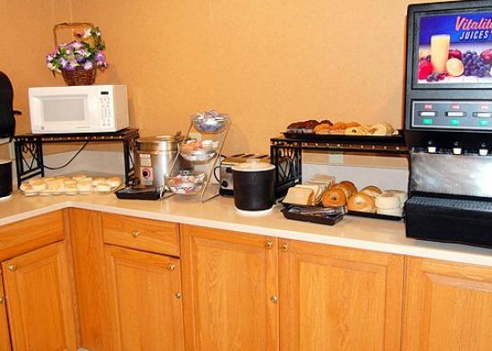 Comfort Inn at the Zoo : Complimentary Breakfast