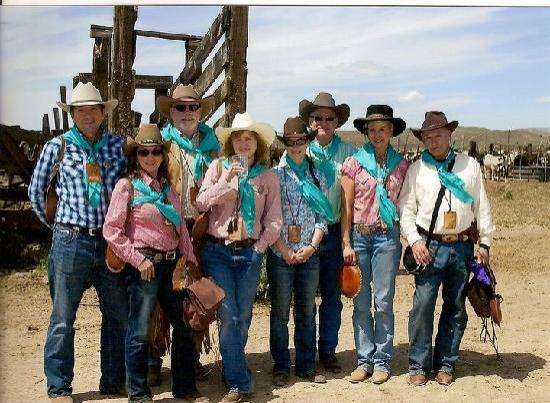 Reno Rodeo Cattle Drive: Teal Team