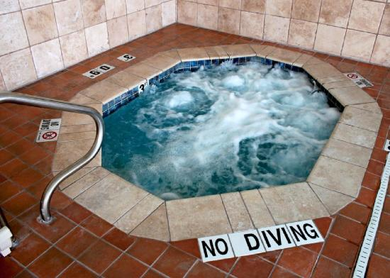 Comfort Suites Downtown South: Hot tub