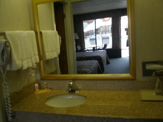 Econo Lodge Airport: Bathroom