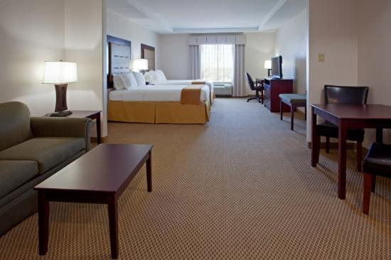 Holiday Inn Express Hotel & Suites Texas City: Quarto com cama de casal