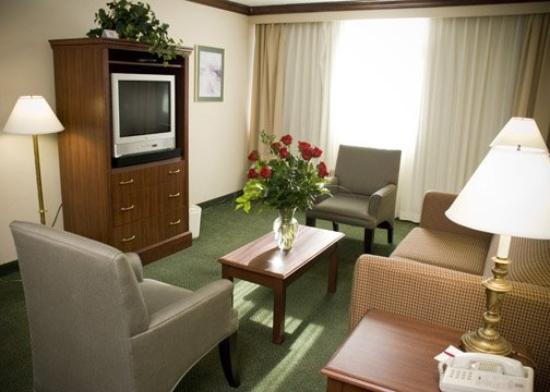 Clarion Inn & Conference Center: Living Room In The Suite