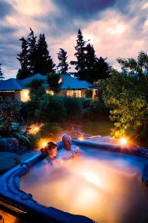  : Soak in the jacuzzi