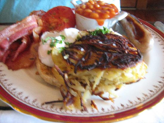 Stuart Manor Boutique Bed & Breakfast: Delicious breakfast!