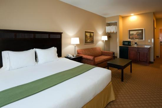 ‪‪Holiday Inn Express Hendersonville Flat Rock‬: Quarto executivo‬