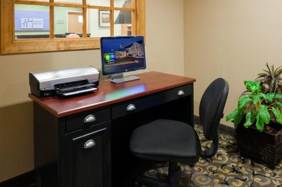 Holiday Inn Express Hendersonville Flat Rock: Centro de negcios