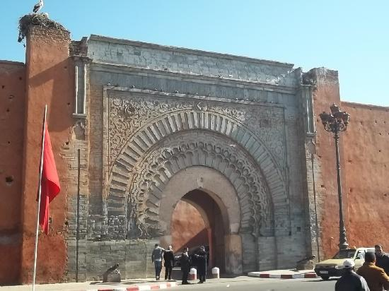 The south door, the most beautiful - Picture of Marrakech, Marrakech-Tensift-El Haouz Region