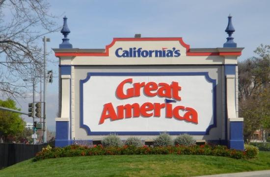 Hotel Stratford: CALIFORNIA'S GREAT AMERICA THEME PARK