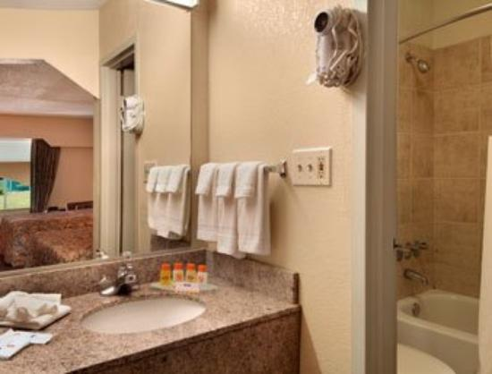 Howard Johnson Inn &amp; Suites Marietta: Bathroom