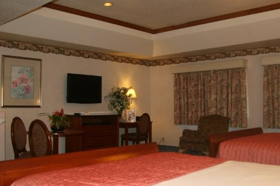 Valley Park Hotel: Queen Beds
