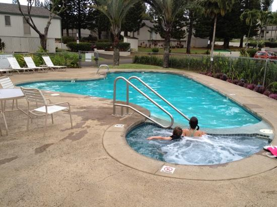 Wyndham Makai Club: pool and hot tub area