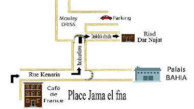 map of Dar Najt's Kitchen