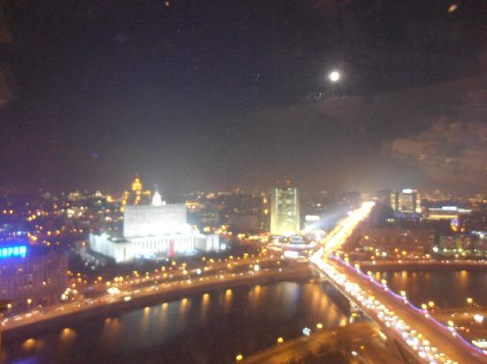 Radisson Royal Hotel Moscow: view from the restaurant at the top